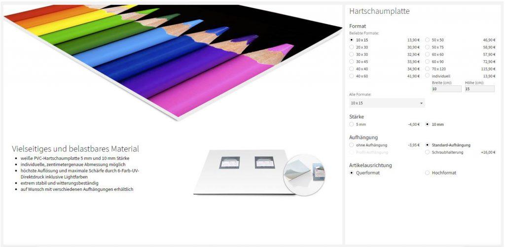 Daniel Hager screenshot-saal-digital-1024x501 Wandbilder Für Studio- Oder Geschäftsausstattung Bei SaalDigital - Meine Erfahrungen Review  prints Druck